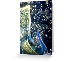 Dollar/Economy - Into the Depths Greeting Card