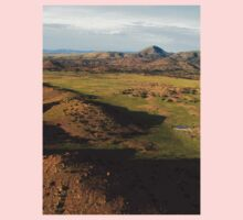 a desolate Mexico landscape One Piece - Long Sleeve
