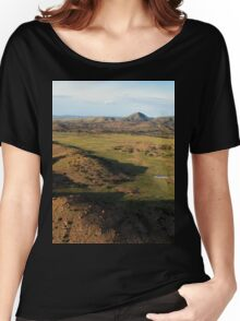 a desolate Mexico landscape Women's Relaxed Fit T-Shirt