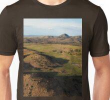 a desolate Mexico landscape Unisex T-Shirt