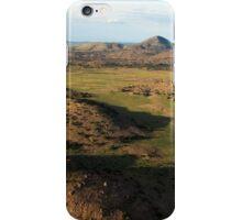 a desolate Mexico landscape iPhone Case/Skin