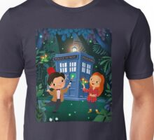 THE DOCTOR IN WHONDERLAND Unisex T-Shirt
