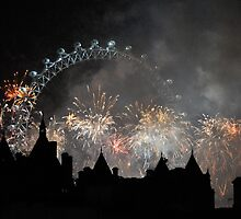 London on New Years Eve by Gavinmc