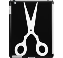 White Scissors iPad Case/Skin