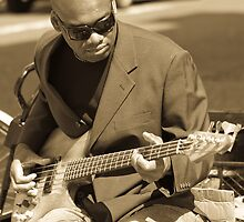 Mister Soul sat on the Curb/Playing in the Street by linmarie