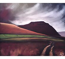 'Ingleborough - the brooding mountain' Photographic Print