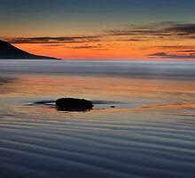 Sunset rock,Rossbeight by Pascal Lee