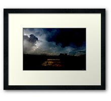 The Siege of Peaceful Nature. Framed Print