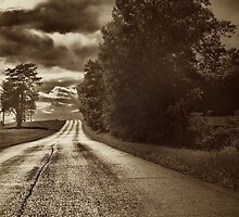 Down The Road A Bit by Jeff Golden