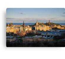 Classic Edinburgh Canvas Print