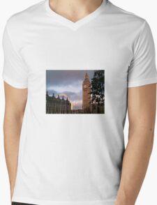 Big Ben London Mens V-Neck T-Shirt