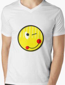 Happy Face  Mens V-Neck T-Shirt