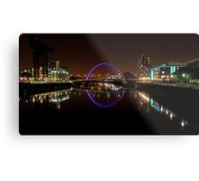 Clyde arc bridge at night Metal Print