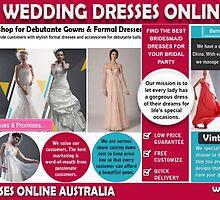 Lace Wedding Dresses Online Australia by Vintage Bridesmaid Dresses