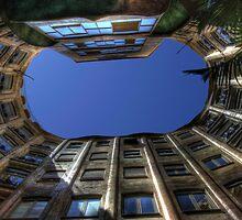 Casa Milà Atrium by Roddy Atkinson