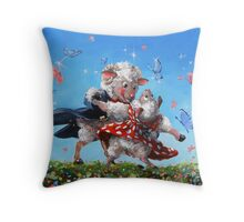 Another Dance With Ewe Throw Pillow