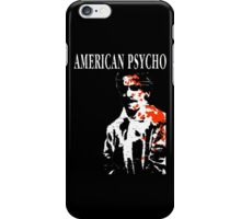 American Psycho Patrick Bateman iPhone Case/Skin