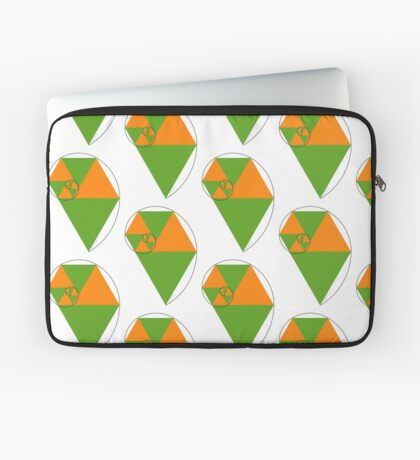 Fibonacci Spiral Laptop Sleeve