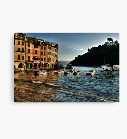 Portofino paint  Canvas Print