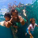Papuan Kids by Carlos Villoch