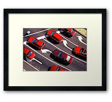 The Fastest Colour Framed Print