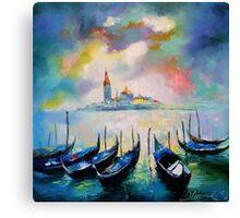 Venice before the rain Canvas Print
