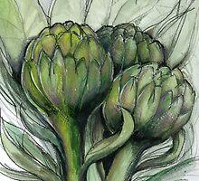 Artichokes by Wayne Grivell