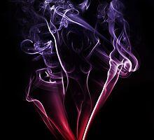 Smokin Lady by Karl Baitz