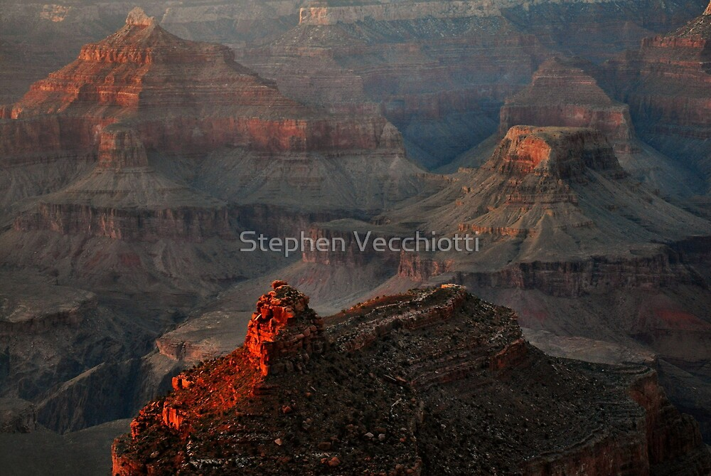 Into The Canyon by Stephen Vecchiotti
