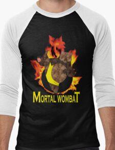 Mortal Wombat Men's Baseball ¾ T-Shirt