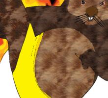 Mortal Wombat Sticker