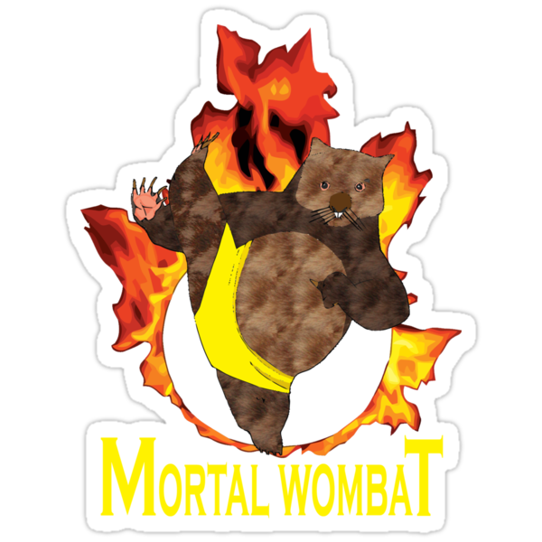 Mortal Wombat by David Cumming
