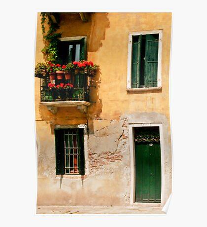 Windows and Doors - Venice Poster