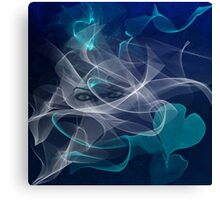 Smoke Gets In Your Eyes-  Art + Products Design  Canvas Print