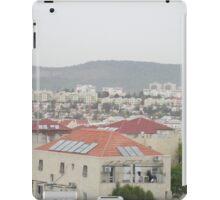 a historic Israel landscape iPad Case/Skin
