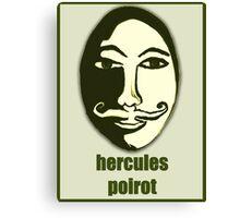 Hercules Poirot Canvas Print