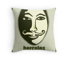 Hercules Poirot Throw Pillow