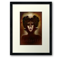 Austerity Updated Framed Print