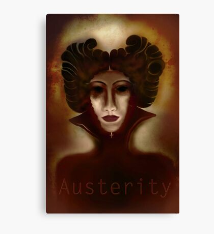 Austerity Updated Canvas Print