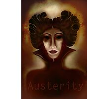 Austerity Updated Photographic Print
