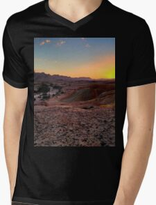 a sprawling Israel landscape Mens V-Neck T-Shirt