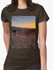 a sprawling Israel landscape Womens Fitted T-Shirt