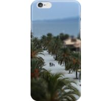 An evening promenade iPhone Case/Skin