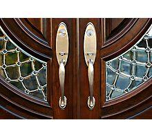 Double Doors Photographic Print