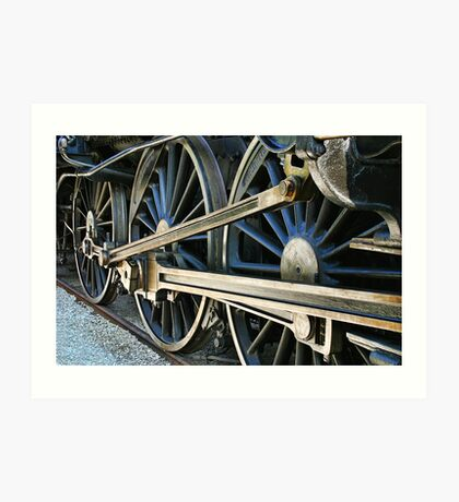 locomotive Art Print