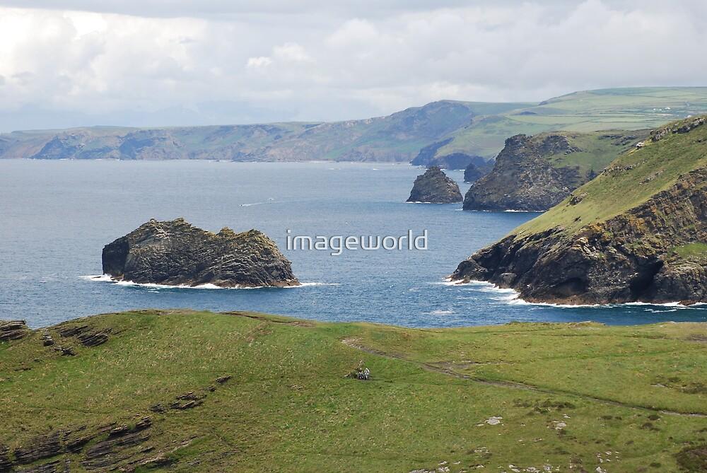 Cornish Coast by imageworld