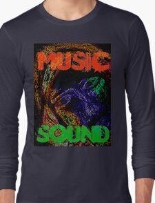 Music Sound Long Sleeve T-Shirt