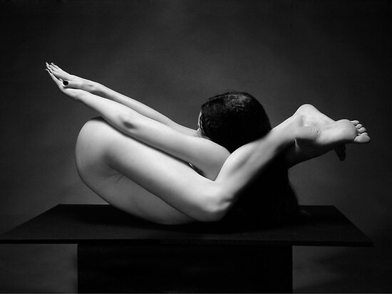 Flexible, a nude by Chris Maher by Chris Maher