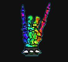 HEAVY METAL HAND SIGN - rainbow cubes Unisex T-Shirt