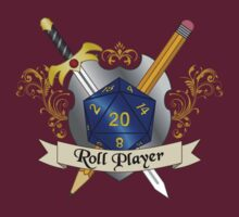 Roll Player Blue d20 Crest by NaShanta